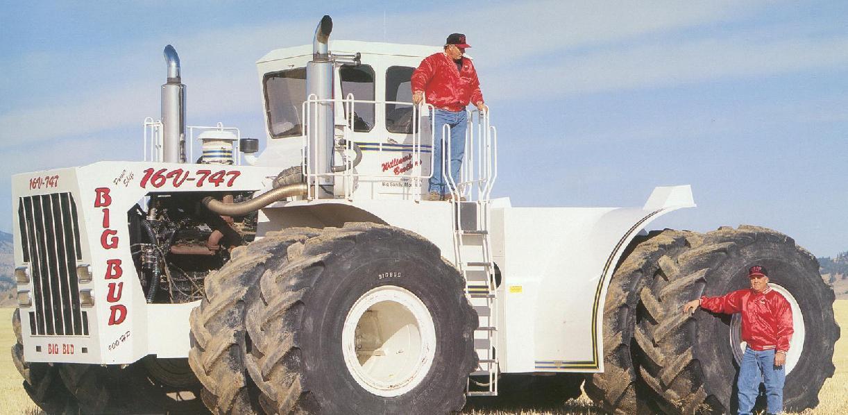 Фото самого большого трактора в мире